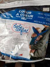 PORTE BEBE VENTRAL Coeur à coeur Bébé confort neuf mais emballage vieilli 1390FB