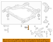 FORD OEM Front Suspension-Rear Insulator Rear Bolt W714157S439