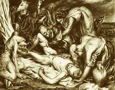 Cadmus Paul Deposition Sepia Print 11 x 14  #4769