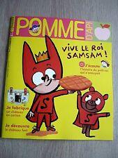 REVUE  POMME  D'API   N° 659  JANVIER   2021  /  VIVE  LE  ROI  SAMSAM  !