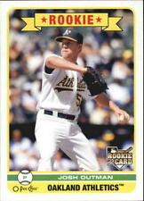 2009 O-Pee-Chee Oakland Athletics Baseball Card #564 Josh Outman Rookie