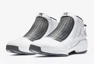 2018 Nike Air Jordan 19 XIX Retro Flint Size 10 AQ9213-100
