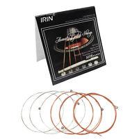 "IRIN A108 Steel Core Phosphor Bronze Acoustic Guitar Strings 0.009"" - 0.045"""