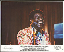 FATS DOMINO orig 1973 color still photo lobby card LET THE GOOD TIMES ROLL