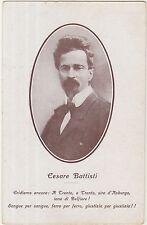 CESARE BATTISTI - WW1 - PRIMA GUERRA MONDIALE - CARTOLINA