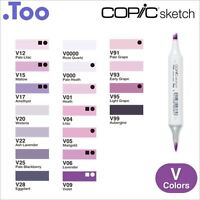 """Copic Sketch Marker Pen """"V(Violet) Color Series"""""""