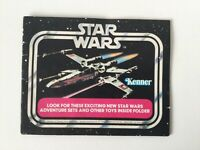 Vintage Star Wars Booklet Kenner Toy 1978 Mini Catalogue  X-Wing Cover - 2
