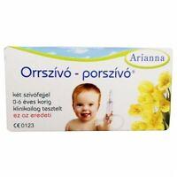 ARIANNA Baby Vac Vacuum Nasal Aspirator Nose Cleaner Orrszivo Porszivo