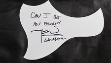 Signed Dave Farrell Linkin Park Guitar Pick Guard with Quote! Chester Bennington
