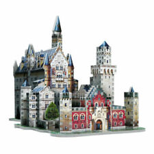 Wrebbit 3D Puzzle Neuschwanstein Castle 890 Pieces