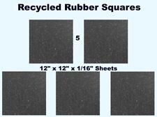 Rubber Squares (5-pack) 12