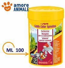 Sera Goldy Color - 100 ml - Spirulina Mangime in granuli per pesci rossi