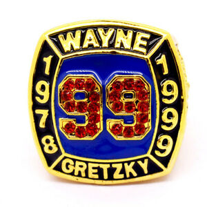 WAYNE GRETZKY 1978-1999 NHL Championship rings