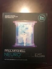 Paul Mitchell Neuro Cell 2 Inch Hot Rollers 4 Rollers with 4 Clips