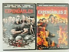 The Expendables and Expendables 2 (DVD, 2010, 2012)