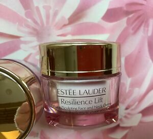 ESTEE LAUDER Resilience Lift Firming Sculpting Face and Neck Creme 15ml