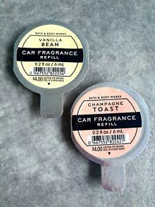 *Bath and Body Works* Car Refill Bundle - Fragrance Set - Vanilla Air Fresheners