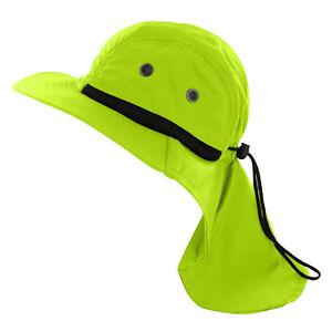 Boonie Mens Hat Brim Neck Cover Sun Flap Cap Summer Fishing Garden Outdoor USA