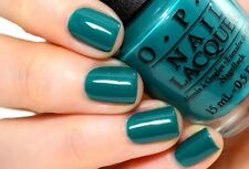 New OPI ~AmazON AmazOFF~ Deep Jungle Jade Green Nail Polish Lacquer .5oz A64