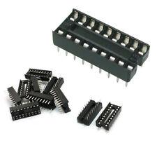Preptec 10 piezas 18 Pin DIP8 circuito integrado adaptador de zócalos IC soldadura tipo Reino Unido