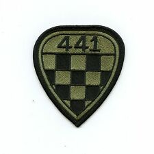 RCAF CAF Canadian 441 Checkerboard Squadron OD Crest Patch