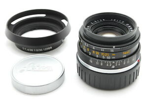 【MINT】Leica Summicron M 35mm f/2 Camera Lens From JAPAN