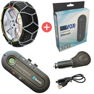 [OFFERTA] Catene da Neve a Rombo 16mm Gruppo 26,7 + Kit Vivavoce Bluetooth MyVox