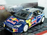 2010 CITROEN C4 WRC RALLY CHAMPION LINDSTROM 1/43RD SIZE CAR MODEL TYPE Y075J^*^