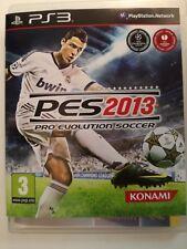 Pro Evolution Soccer 2013 PES Gioco PS3 Playstation 3 Sport Calcio