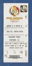 Orig.Ticket  Südamerikameisterschaft / COPA AMERICA USA 2016  USA - COSTA RICA !