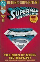 Superman Man of Steel # 22 Reign of the Supermen DC 1993