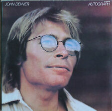 """JOHN DENVER """"AUTOGRAPH""""   33T  LP"""