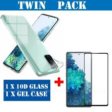CLEAR Samsung S21,S20,Ultra,Plus Case Silicone Shockproof Cover Screen protector