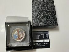 More details for 2021 the simpsons itchy and scratchy $1 silver proof perth mint tuvalu