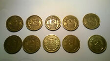 SERIE LOT 2 FRANCS MORLON 1931 A 1941 (SAUF 1935) 10 PIECES