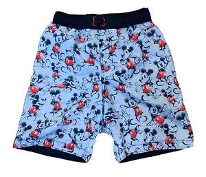 Disney Mickey Boys Swim Shorts Trunks S 5