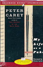 Audio book - My Life As A Fake by Peter Carey   -    Cass