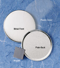 """Badge-A-Minit 500-3"""" Magnetic-Back Button Sets #3760 NEW"""