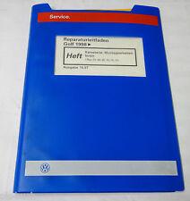 Werkstatthandbuch VW Golf IV / 4 Karosserie Montagearbeiten Innen ab 1998