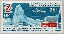 TAAF FSAT 1969 Maury 33 50 33 20 Ann French Polar Expeditions Forschung MNH
