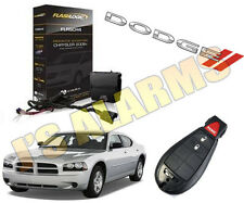 2010 DODGE CHARGER REMOTE START ADD ON FACTORY REMOTE PLUG & PLAY 3X LOCK SYSTEM