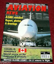 Aviation News 2005 March Airbus A380,Klemm,Meteor,Canadian Aerospace