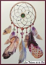 TATOUAGE TEMPORAIRE TATOO XXL - Body art - Dreamcatcher - Multicolore