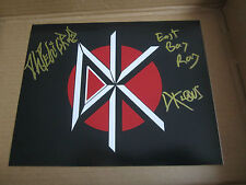DEAD KENNEDYS signed 8x10 photo - signed by 3 - Klaus, DH, Ray