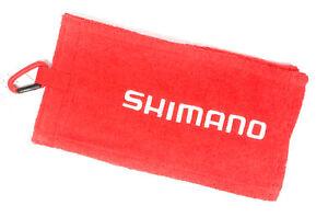 Shimano AC-060P Clip on Fishing Hand Towel Fireblood 60 x 15 cm Red 451941