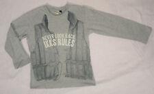 T-shirt gris pour garçons, IKKS, 5 ans (108 cm)