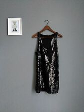 Atmosphere little black sequined racerback luxe Dress