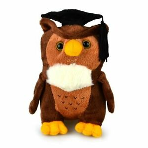 Soft Toy Stuffed Graduation Owl 16cm Congratulation Keepsake Gift Present