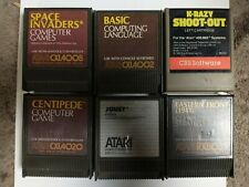 Atari 400/800 Games joust space Invaders centipede eastern front and more