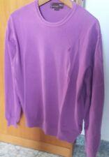 Marlboro maglia maglione uomo Xl cotone viola rosa